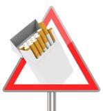 The cigarette box. 3d generated picture of a cigarette box sign vector illustration