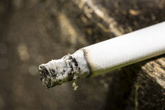 Cigarette burning Royalty Free Stock Photos