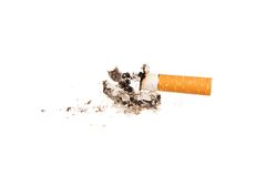 Cigarette butt Stock Photography