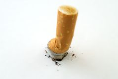 Cigarette butt Stock Images