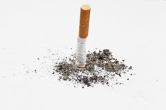 Cigarette butt Royalty Free Stock Photography