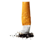Cigarette butt Stock Photography