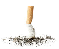 Cigarette butt Royalty Free Stock Photos