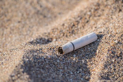 Cigarette Butt Royalty Free Stock Image