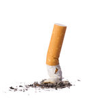 Cigarette butt Royalty Free Stock Images