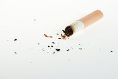 Cigarette butt Stock Photos