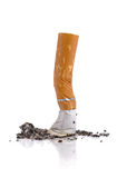 Cigarette butt Royalty Free Stock Photo