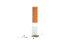 Cigarette butte Royalty Free Stock Photos