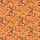 Cigarette Butts Seamless Background Royalty Free Stock Photos