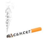 Cigarette cancer Royalty Free Stock Photography
