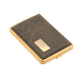 Cigarette case. Isolated object. White background Stock Photo