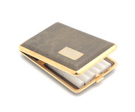 Cigarette case. Royalty Free Stock Photography