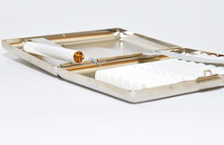 Cigarette case. Stock Photography