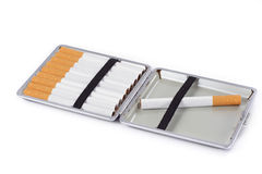 Cigarette case Stock Photos
