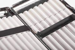 Cigarette case Stock Image