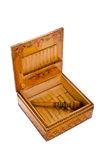 Cigarette case Royalty Free Stock Photography