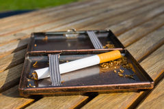 Cigarette case Stock Photo
