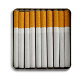 Cigarette case Royalty Free Stock Photos