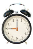 Cigarette clock royalty free stock photography