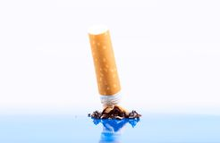 Cigarette close-up Royalty Free Stock Photo