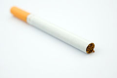 Cigarette closeup Royalty Free Stock Photo