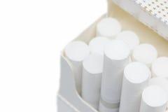 Cigarette dans la boîte Image libre de droits