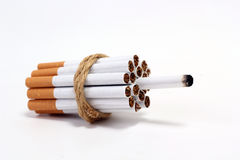 Cigarette de bombe Photo stock