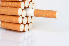 Cigarette detail Royalty Free Stock Photos