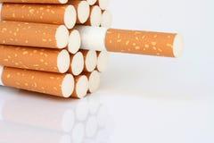 Cigarette detail Royalty Free Stock Photos
