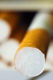 Cigarette du cadre Photographie stock libre de droits