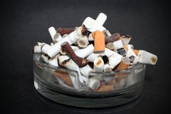 Cigarette end Stock Image