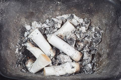 Cigarette-ends Royalty Free Stock Photo
