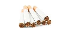 Cigarette with filter Royalty Free Stock Photos