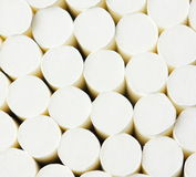 Cigarette filter texture Stock Photo