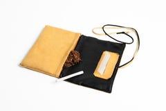 Cigarette handmade kit Stock Photography