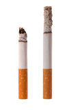 Cigarette. Isolated on white background Royalty Free Stock Images