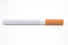 Cigarette isolated on white Royalty Free Stock Images