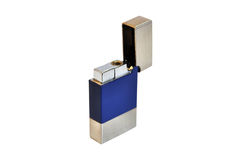 Cigarette lighter. On white background Stock Photography