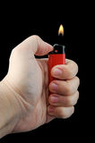 Cigarette Lighter Royalty Free Stock Image