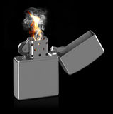 The cigarette lighter Royalty Free Stock Photo