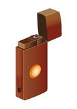 CIGARETTE-LIGHTER. Device for the receipt of fire Royalty Free Stock Photos