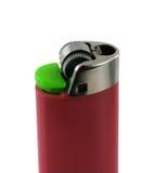 Cigarette lighter. Nice cigarette lighter isolated on white background Royalty Free Stock Images