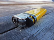 Cigarette lighter Stock Photo