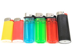 Cigarette lighters Stock Image