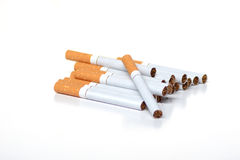 Cigarette. Lovely picture of filter cigarettes Stock Images