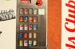 Cigarette machine Stock Images