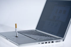Cigarette off Royalty Free Stock Photo