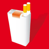 Cigarette pack Stock Photos
