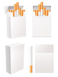 Cigarette pack royalty free illustration