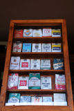 Cigarette pack Royalty Free Stock Images